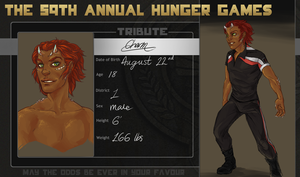 Hunger Games OC- Charm by Deericious