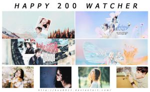 [260317] PACK SHARE 200 WATCHERS by huy0911