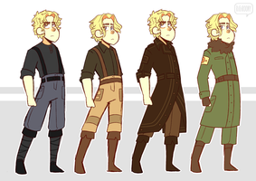 Solar Outfits - Ref by Rigiroony