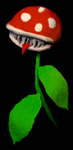 Piranha Plant by DreamIn8bit