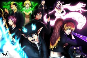 Ao no Exorcist Fanart by Kaiser-jiM