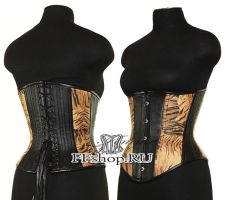 Corset Tiger by Famme-Fatale-Fashion