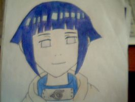 Hinata (Coloured) by CoolShazza
