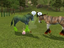 Sims 3 - Ghosts and Wolves by ToxicCreed