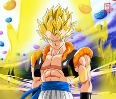 Gogeta Appears by SnaKou