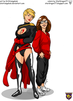 Miss Power and Kara Danvers by StarDragon77