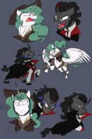 Van and Drac sketch dump by Assassin-or-Shadow
