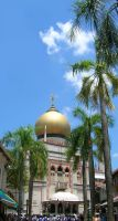 Sultan Mosque by anuhesut