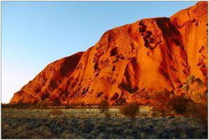 Uluru sunrise 1 by wildplaces