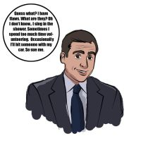 Michael Scott by TheSpyWhoLuvedMe