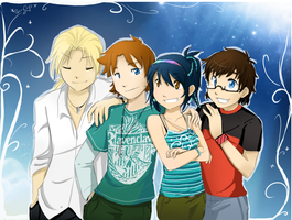:: We're Family :: by SkyDrew