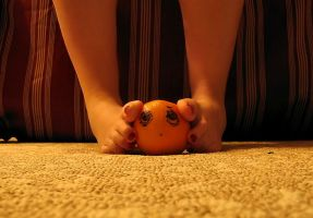 I'll Get You Annoying Orange 1 by Pies-Toes-N-Soles
