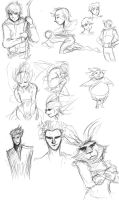 ROTG - Sketches 2 by ingridsailor2009