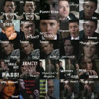 Supernatural icons by Itachi-Lawliet