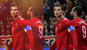 Cristiano Ronaldo | Before-After by suicidemassacre16