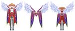 Rappelz: Shoulder decoration (Luminous Feather) by Jalmod