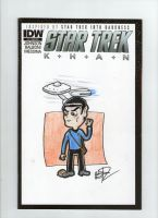 Star Trek Cover Spock by johnnyism