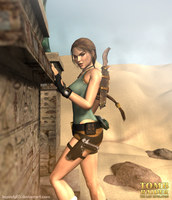 Lara Croft 80 by legendg85