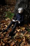 Reading alone_3. Calm by St-Climentina