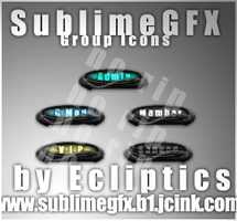 SublimeGFX Rank Icons v2 by Ecliptics