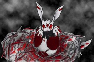 Mutant Bunny by CouldntCareless