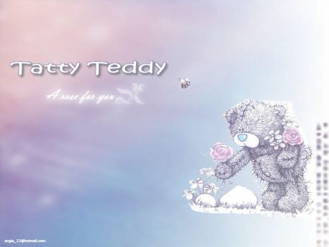 tatty teddy wallpaper by angeles-selegna