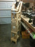 Tower Shelf+Sculpture WIP 02 by MikeDoscher