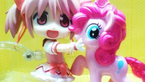 MLP Buddy: Madoka's Pinkie Pie by emeraldbeam