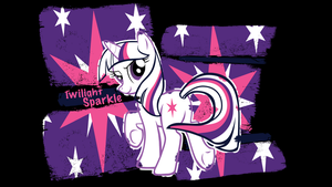 Twily Outline Wallpaper by murknl