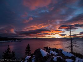 Tahoe sunset- East Shore by MartinGollery