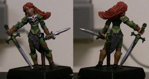 Redhead Ranger-Reaper Minis by mandy-the-mental