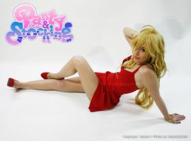 I'm a REAL angel (Panty cosplay) by Xeylen