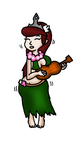 Hula Girl Sammy Recolour by PrincessSammyXaxas