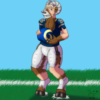 NFL TF #19: Rampage the Ram by Pheagle-Adler