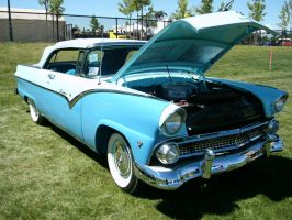 A Fine '55 Ford Fairlane Sunliner by RoadTripDog