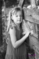 .:My Little Girl:.BW by Paigesmum