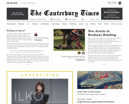 The Canterbury Times by Maonsie