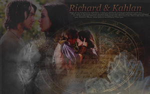 Richard and Kahlan by creature-in-night