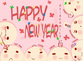 Asia Family_Happy New Year_APH by xskyhighx98