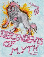 Descendts of Myth Front Cover by KillerWolf1020