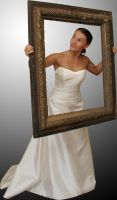 Della-Stock Bride in frame 2 by Cutoutstock