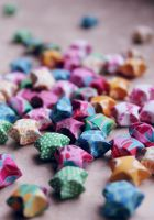 Origami Stars by RoseaOrchis