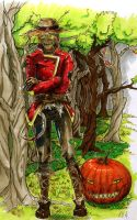 Scarecrow colored by Anixien