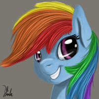Rainbow Dash by Xenstroke
