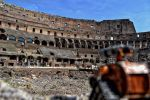 Wall-e hits ancient Rome by Sprunks