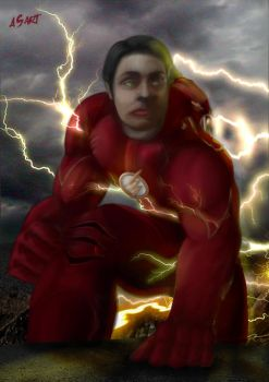 My brother Flash by AtilaBass