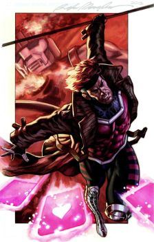 Gambit commission colors by felipemassafera