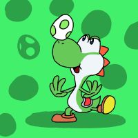 Super Smash Bros 027-Yoshi by Guuguuguu