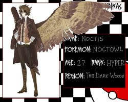 Pokemon Gijinkas - Noctis :evolved: by lordmegi