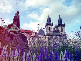 Church of Our Lady before Tyn by pinkmarta182